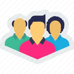 avatar, community, group, men, people, persons icon