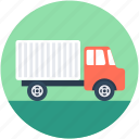 cargo, delivery van, commercial car, transport, delivery truck