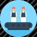 conveyor, conveyor belt, logistic package, package sorting, shipping