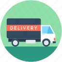 cargo, commercial car, delivery truck, delivery van, transport