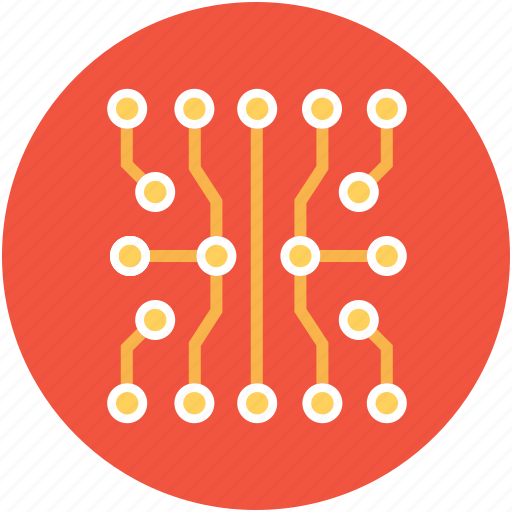 circuit, circuit connections, circuit print, electronic board, electronic circuit icon