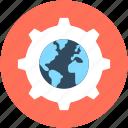 global config, global setting, navigation setup, settings, setup icon