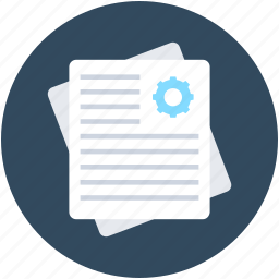 file, paper, plan, report, voucher icon