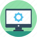 cogwheel, configuration, development, preferences, screen settings icon