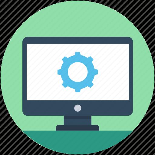 cogwheel, configuration, development, preferences, screen settings icon