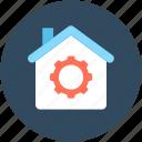 cogwheel, configuration, development, home settings, production