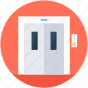 electric elevator, elevator, elevator lift, lift, vertical transport icon