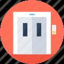 elevator lift, lift, vertical transport, electric elevator, elevator