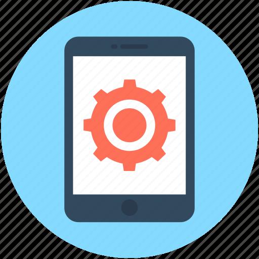 Mobile, mobile ui, mobile software, app development, mobile development icon