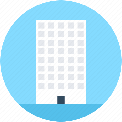 apartments, building, city building, flats icon