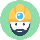 miner avatar, job, miner, worker, occupation
