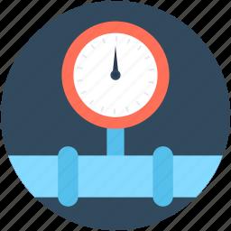 fuel meter, meter, pressure chronometer, pressure gauge, sphygmometer icon