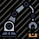 arm, factory, industrial, mechanical, robot, robotic, robotics
