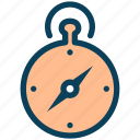 location, stopwatch, timer, compass, direction