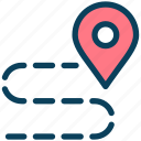 location, map, route, direction, gps, road