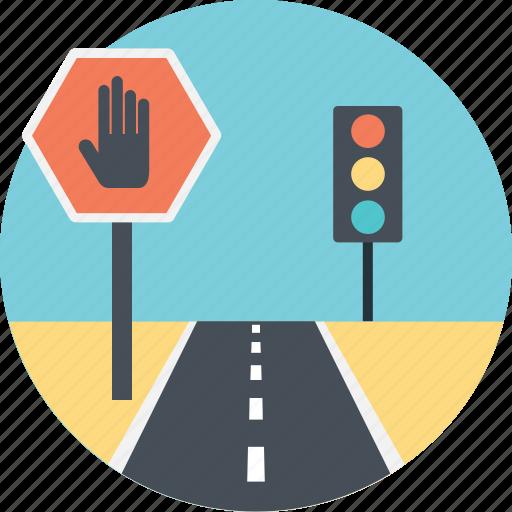 automotive navigation, gps, satellite, traffic navigation, traffic signals icon