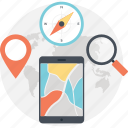 directions, gps, gps app, location services, maps, mobile app, navigations icon
