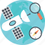 global navigation, gnss, gps, navigation, satellite system icon