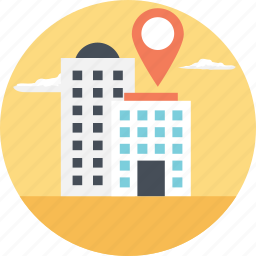 geolocation, location finding, location pointer, navigation system, office location icon