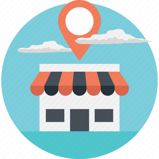geolocation, ip address, location finding, navigation system, store location icon