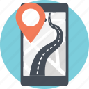 android app, mobile gps, mobile tracker, phone tracker, tracking app icon