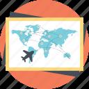 airlines route map, flights destination, international flights map, live flight tracker, travel guide