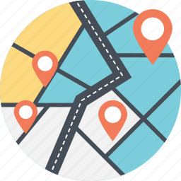 global location, global navigation, globe and pointer, gps, positioning system icon