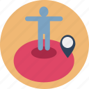 avatar, man, man location, profile avatar, user, user avatar, user location icon