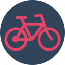 bicycle, bike, cycle, cycling, journey, ride, transport icon