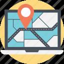 gps, navigation software, navigator, online map, online navigation icon