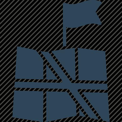 address navigator, destination, location map, location pointer icon
