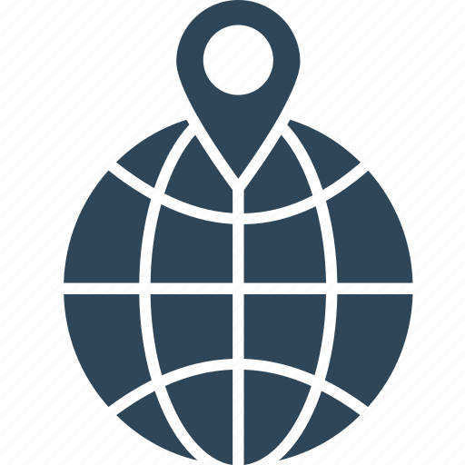 geographic information system, geolocating or positioning, geolocation, positioning system icon