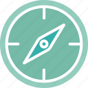 compass, directional, geography, gps icon
