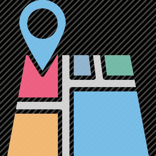 location marker, location pointer, map location, map locator icon
