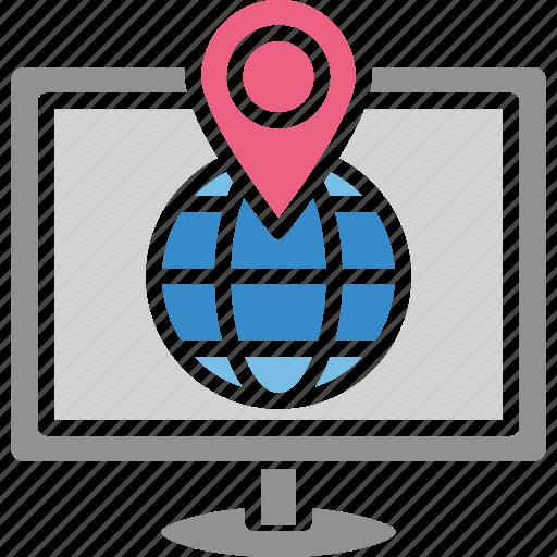 navigation app, navigation software, online gps, online map icon