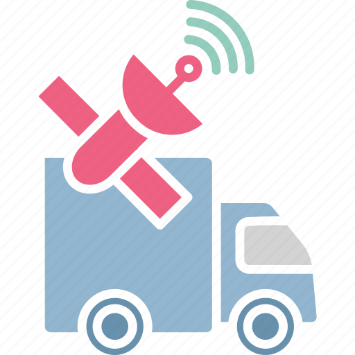 cargo tracking, satellite navigation, satellite tracking, shipping tracking icon