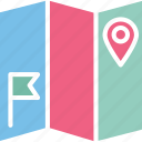 geolocation, location map, map navigation, mapping icon