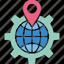 geomarketing, geotargeting, local seo, location marketing icon