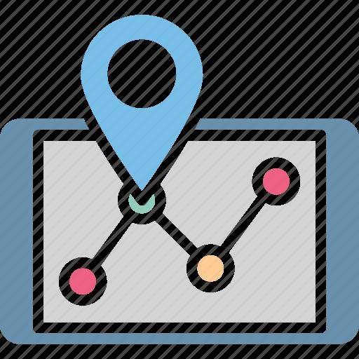 gps navigation, gps navigation website, gps tracking software, mobile navigator icon