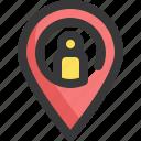 gps, location, map, navigation, people, pin