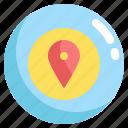 gps, location, map, navigation, target