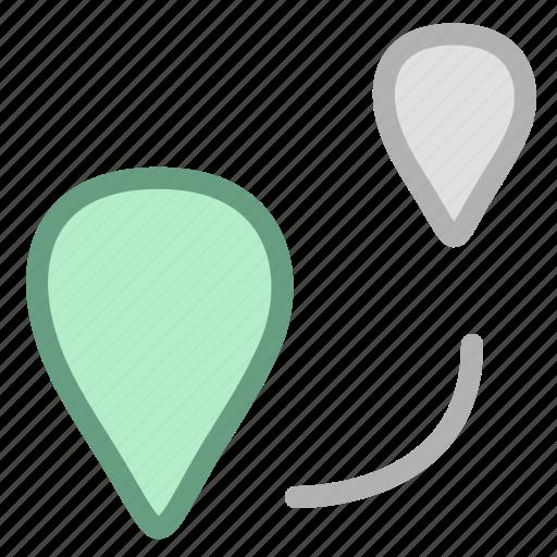 location, navigation icon