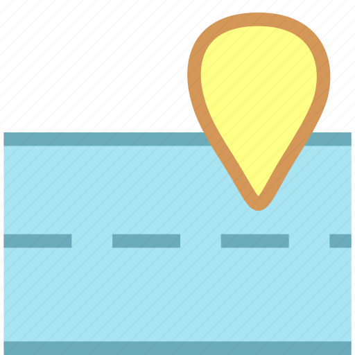 location, map, navigation, place icon