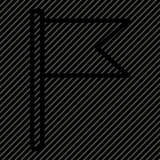 arrow, map, navigation, pin, road, travel icon
