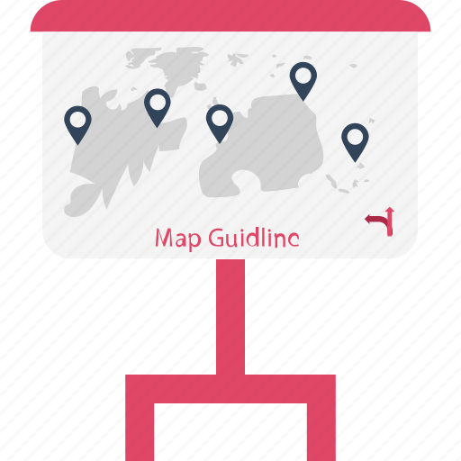 journey, journey board, location pin, locator, navigational, road sign board icon