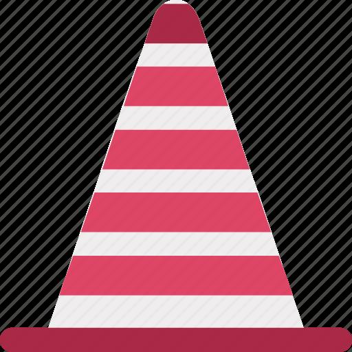 caution cone, cone pin, construction cone, road cone, traffic cone, traffic cone pin, under construction icon