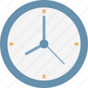 appointment, clock, round clock, schedule, timepiece, timer, wall clock icon