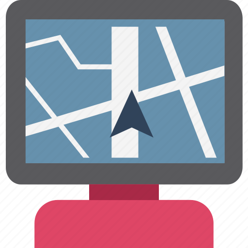 go with location, gps, location, map, navigation, online location icon