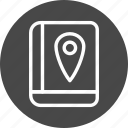 location, map, navigation, navigations, pin icon