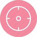 crosshair, navigation, point icon